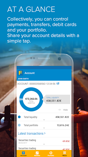 Fineco app (apk) free download for Android/PC/Windows screenshot