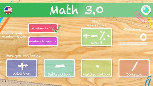 Math 3 Numbers to and over 100