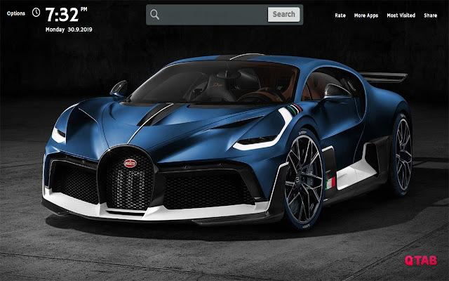 Bugatti Wallpapers New Tab Theme