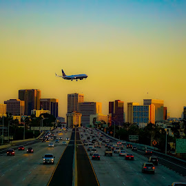 planes trains and automobiles by Brendan Mcmenamy - Novices Only Street & Candid ( san diego, plane, automobile, train, downtown )