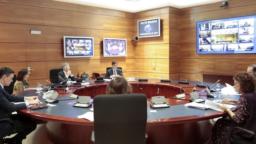 El Consejo de Ministros ha acordado medidas contra la crisis econónmica y social.