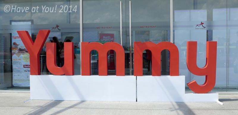 Yummy Magazine event logo