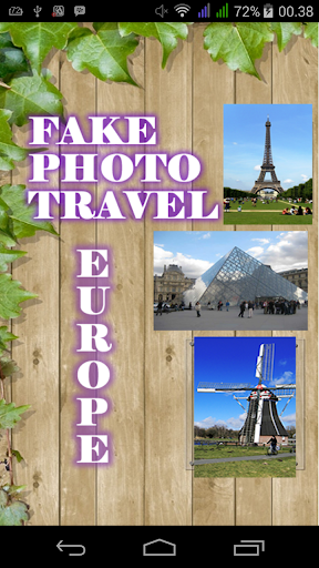 Fake Photo Travel Europe