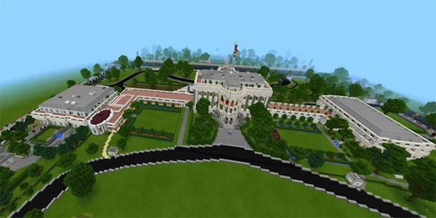 White House Map For MCPE - náhled
