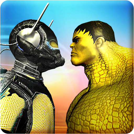 Ant Superhero vs Villain Superheroes Crime Battle