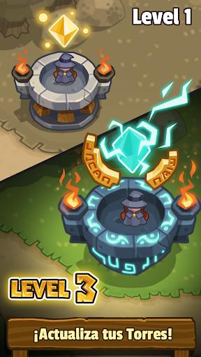 Realm Defense: Leyenda heroica. Defensa de torre.  trampa 6