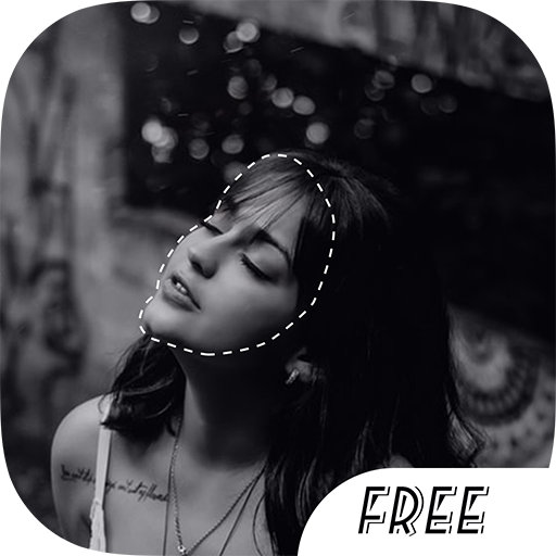 Photo Cut Out Free Icon