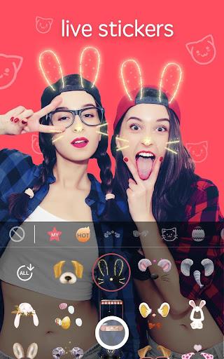 Sweet Snap - live filter, Selfie photo edit 2.21.100256 screenshots 2