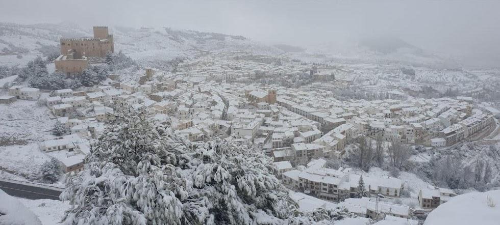 Bellísima estampa de Vélez-Blanco, una imagen 100% Almería.