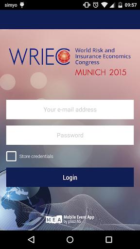 WRIEC 2015 – Congress App