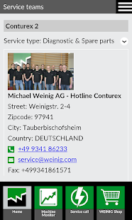 WEINIG App Suite- screenshot thumbnail