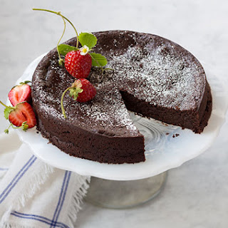 Flourless Dark Chocolate Torte