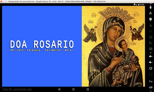 Doa Rosario- screenshot thumbnail