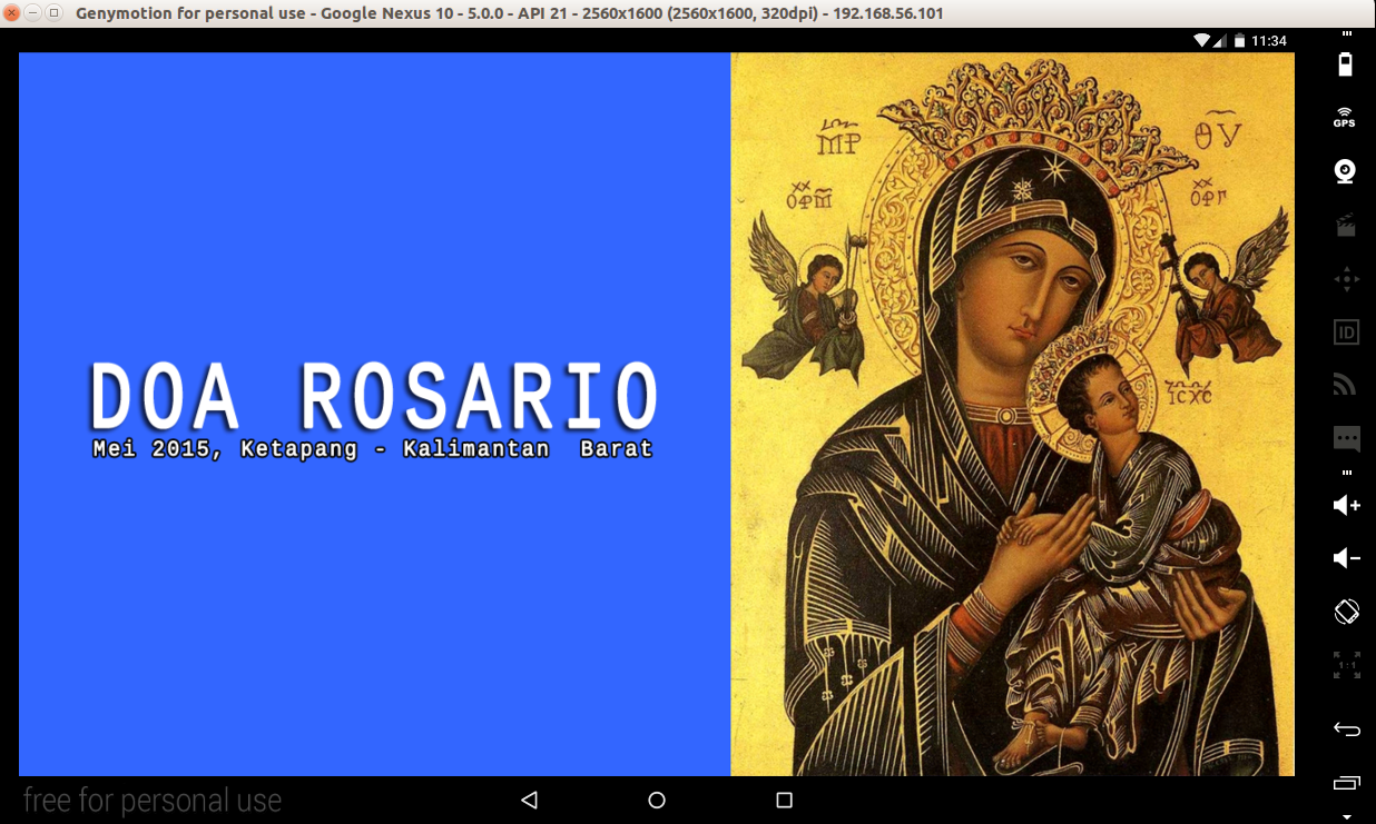 Doa Rosario- screenshot