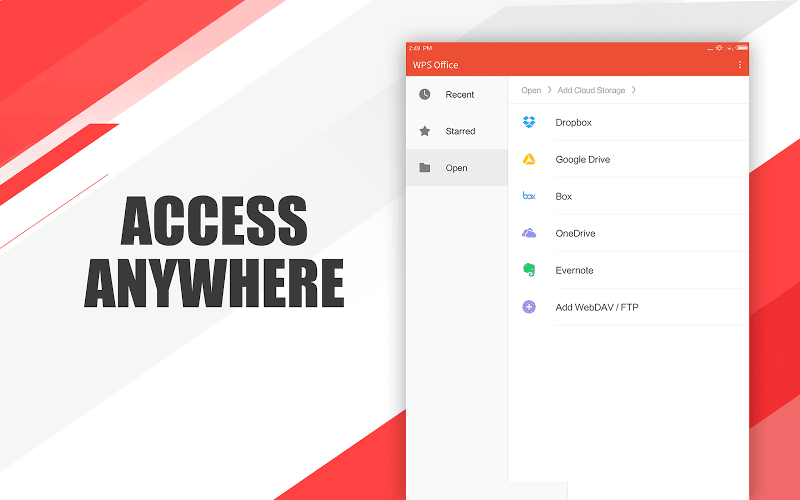 WPS Office - Word, Docs, PDF, Note, Slide & Sheet Screenshot 13