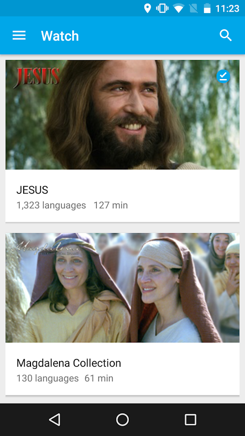 Jesus Film Media- screenshot