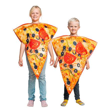 Barndräkt, pizza