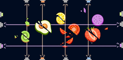 Addictive and fun fruit slicing game with the laser gun! ⚡️💥
