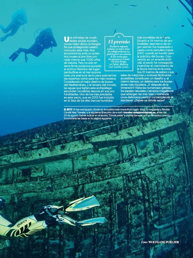 Condé Nast Traveler España- screenshot