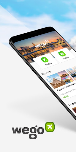 Wego Flights, Hotels, Travel Deals Booking App 6.0.1 screenshots 1