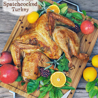 Orange & Sage Spatchcocked Turkey