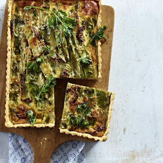Green Bean and Mint Tart