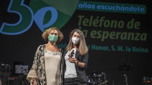 El Teléfono de la Esperanza premia el apoyo de Diputación, Ayuntamiento y Junta