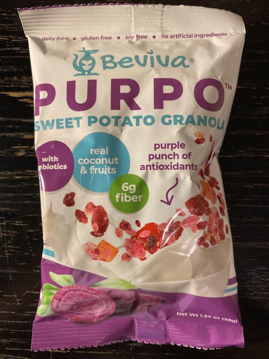 Purpo Sweet Potato Granola