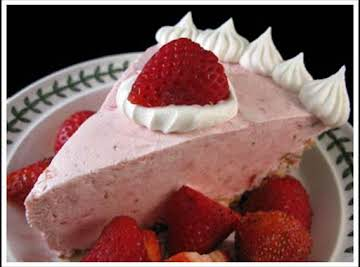 Grandma's Strawberry Cream Cheese Pie