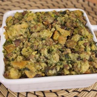 Italian Sausage & Broccoli Rabe Stuffing