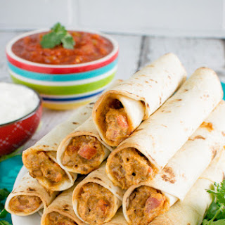 Cheesy Taco Taquitos.