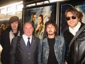 """Photo: MATMATAH Je@nnot au milieu de ce groupe brestois véritable dynamo avec un nouvel album """" La Cerise """""""