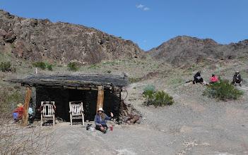 Photo: Watchmen's Cabin & mining area. (D Miller)