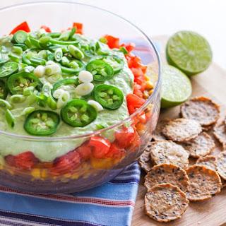Vegan 7-Layer Taco Dip