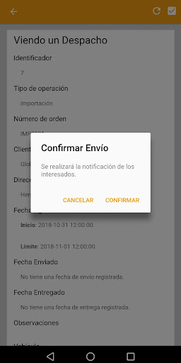 GPS Global: Conductores 7.0.0 screenshots 1