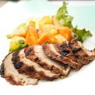 Caribbean-Marinated Pork Tenderloin.