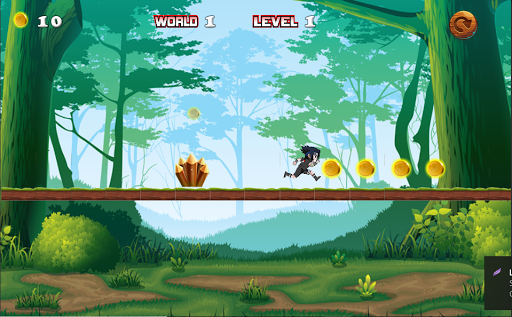 Shinobi Ninja Jungle Runner apkdebit screenshots 1