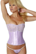 Photo: Lace And Satin Corset http://www.lingeriediva.com/corsets/lace-and-satin-corset