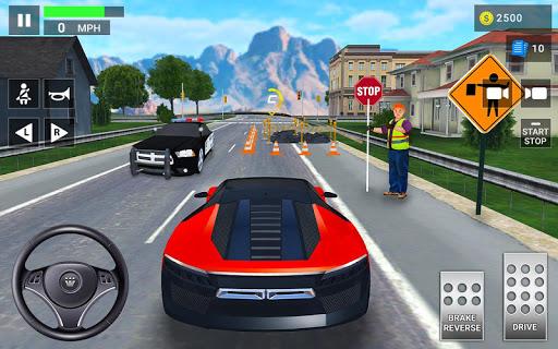 Code Triche Auto Ecole: Jeux de Conduite & Parking de Voiture apk mod screenshots 3