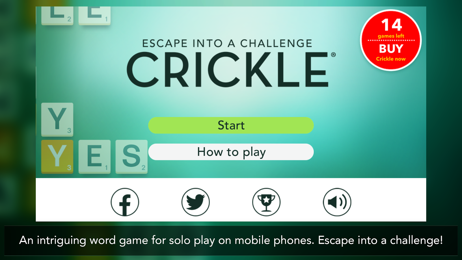 Crickle- screenshot