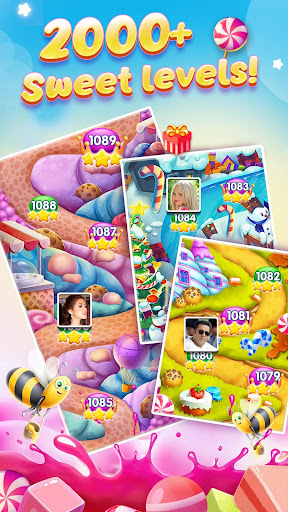 Candy Charming - 2019 Match 3 Puzzle Free Games android2mod screenshots 16