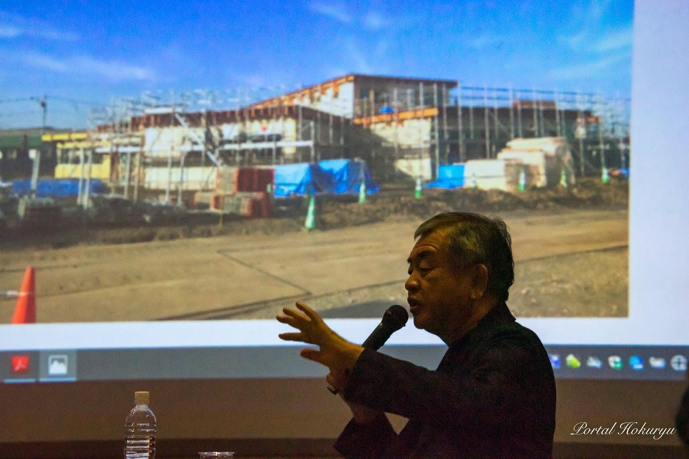 建設が進む新保育園