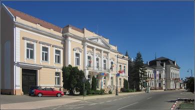 Photo: Piata 1 Decembrie 1918, BCR si Primaria  - 2017.08.02