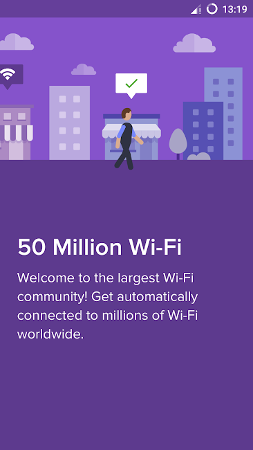 #1. Free WiFi - Wiman (Android)