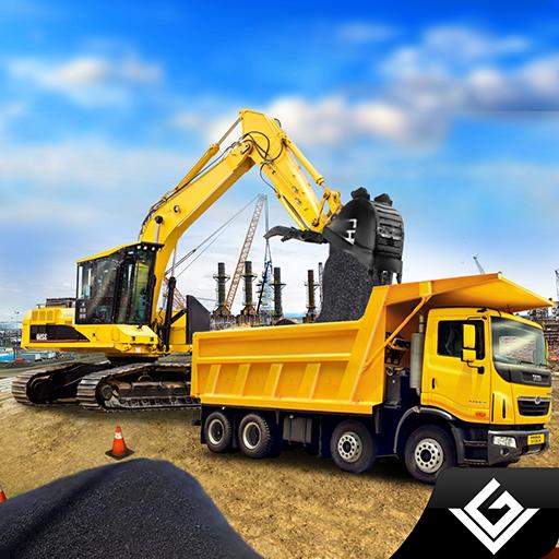 重型道路挖掘机起重机 模擬 App LOGO-硬是要APP