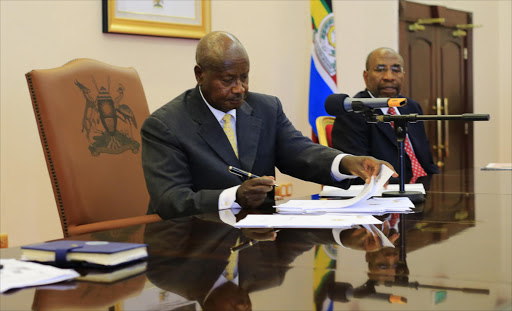 Uganda's President Yoweri Museveni. File photo