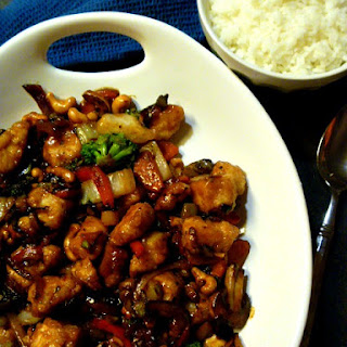 Spicy Szechuan Chicken and Vegetable Stir Fry.