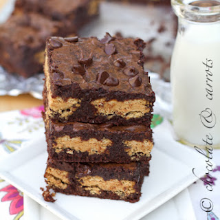 Whole Wheat PB Girl Scout Brownies