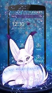 Dreamy Cute Fox Theme - náhled