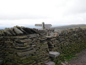 Photo: On top of Pen-y-Ghent
